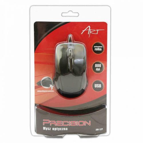 ART Mysz optyczna AM-57 Precision USB