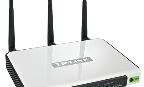 Router TP-LINK TL-WR1043ND - Unboxing