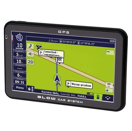 BLOW GPS43YBT AutoMapa Polska XL
