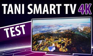 Toshiba 55UA3A63DG - Test niedrogiego Smart TV 4K