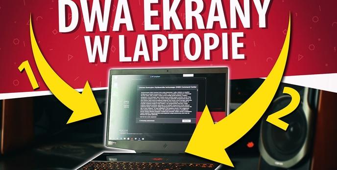 Test HP OMEN X 2S - dwa ekrany w laptopie