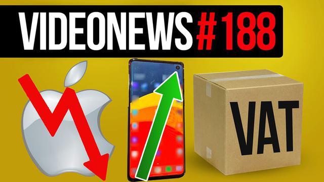 Apple traci na wartości, nowa konsola, koniec tanich zakupów z Chin? - VideoNews #188