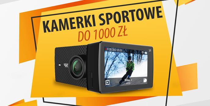 Kamery sportowe do 1000 zł |TOP 5|