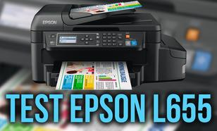 Test Urządzenia Wielofunkcyjnego EPSON L655
