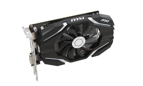 MSI GeForce GTX 1050 Ti 4G OC 4GB (GTX1050TI4GOC4GB)
