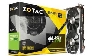 ZOTAC GeForce CUDA GTX1060 AMP! 6GB GDDR5 192BIT 3DP/HDMI/DVI