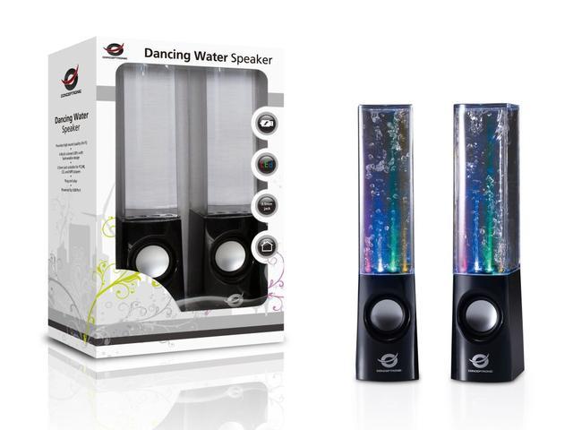 Conceptronic Dancing Water (CLLDWASPKB) - niezwykłe głośniki z efektem wodnym