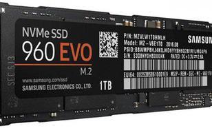 Samsung 960 Evo 1TB M.2 PCIe (MZ-V6E1T0BW)