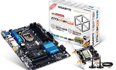Rekord podkręcania na płycie głównej GIGABYTE Z77X-UD3H oraz procesorze Ivy Bridge