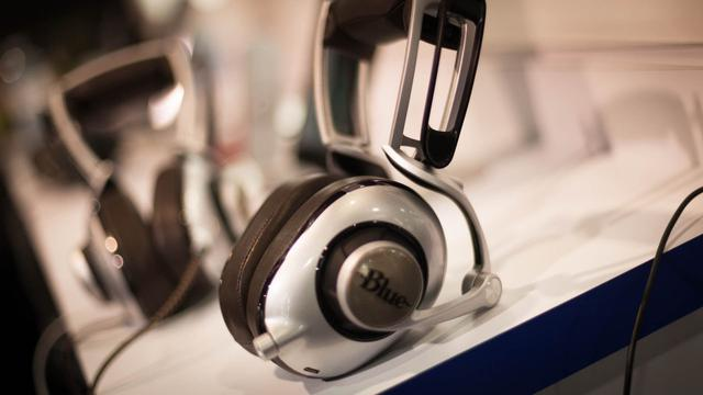 słuchawki blue