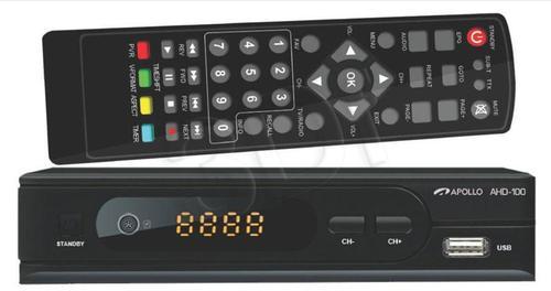 Apollo AHD-100 Dekoder DVB-T i odtwarzacz FHD