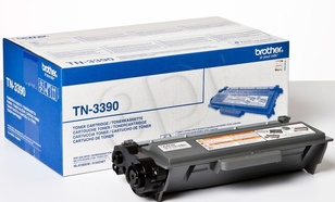 BROTHER Toner Czarny TN3390=TN-3390, 12000 str.