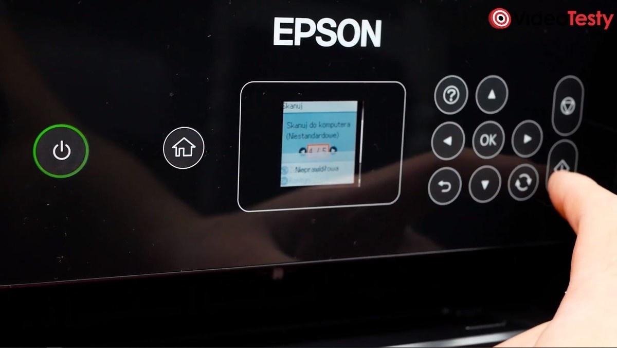 Panel sterowania Epson L3160