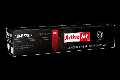 ActiveJet ATO-B2200N czarny toner do drukarki laserowej OKI (zamiennik 43640302) Supreme