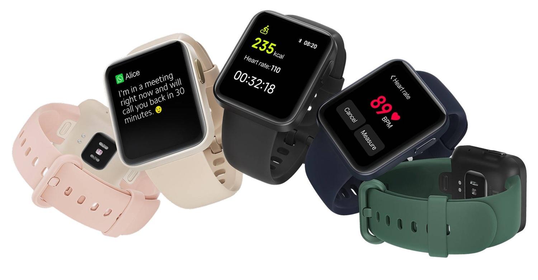 Xiaomi Mi Watch jest dostępny w pięciu kolorach