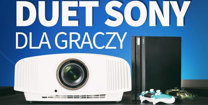 Sony VPL-VW570ES + PlayStation 4 Pro - Test duetu dla wymagających graczy