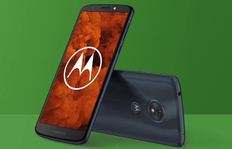 Motorola G6 z przodu i z tyłu