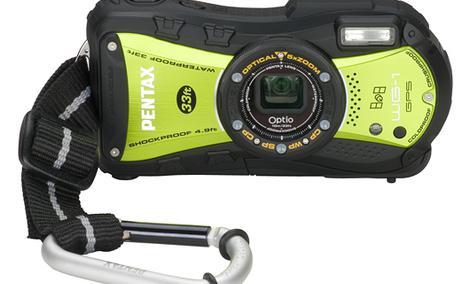 PENTAX Optio WG1-GPS - wodoodporny i wstrząsoodporny aparat fotograficzny