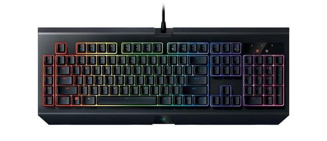 TOP 10 klawiatur mechanicznych dla graczy - Razer BlackWidow Chroma V2 Green Switch