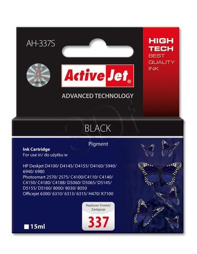 ActiveJet AH-337S tusz czarny do drukarki HP (zamiennik HP 337 C9364EE) Premium Standard