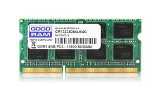 GOODRAM DDR3 SODIMM 4GB/1333 CL9 256*8 Dual Rank