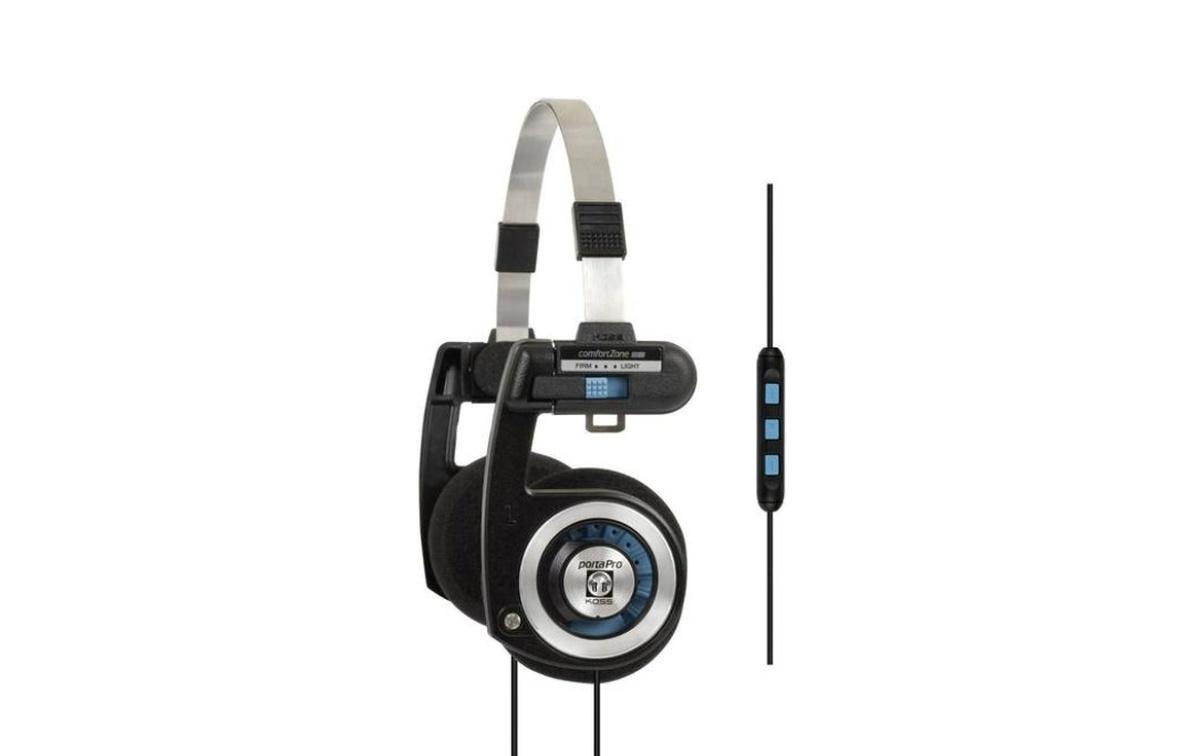 Koss Porta Pro MIC rozwijają kultowy koncept o pilota i mikrofon
