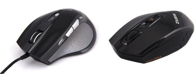ZALMAN ZM-M400 i ZM-500WL – przewodowa i bezprzewodowa myszka za nieduże pieniądze