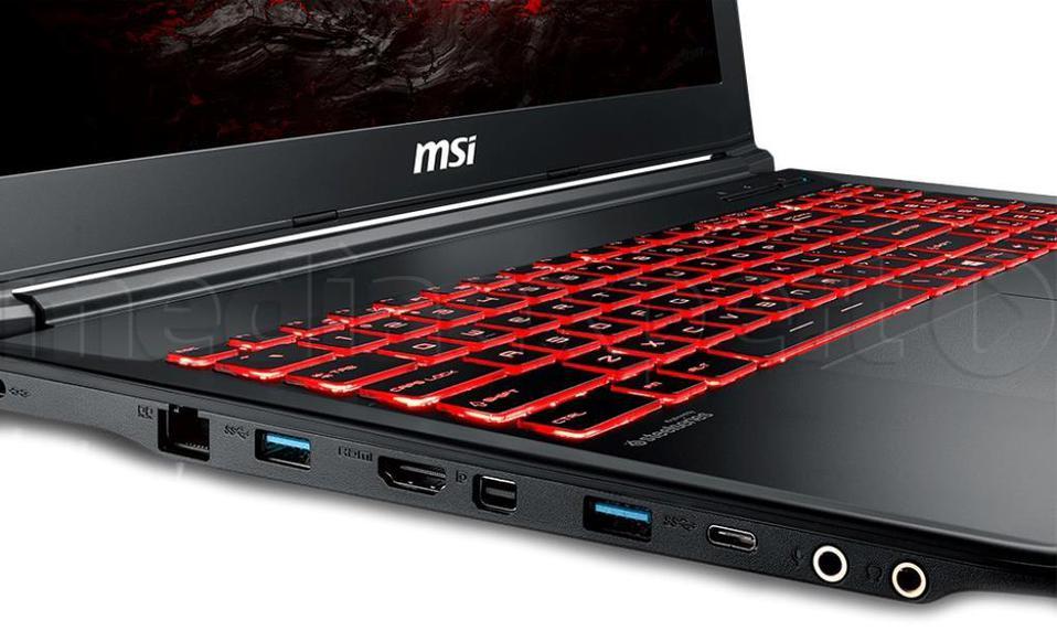 MSI GL62M 7RDX-2848PL i7-7700HQ 8GB 1000GB 128GB SSD GTX1050 W10