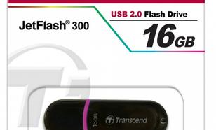 Transcend JETFLASH 300 16GB USB2.0 BLACK