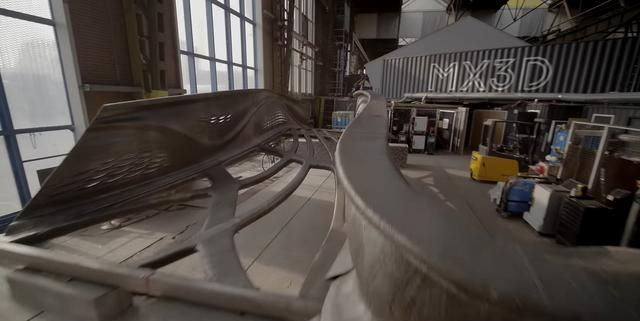 MX3D stworzyło most drukiem 3D