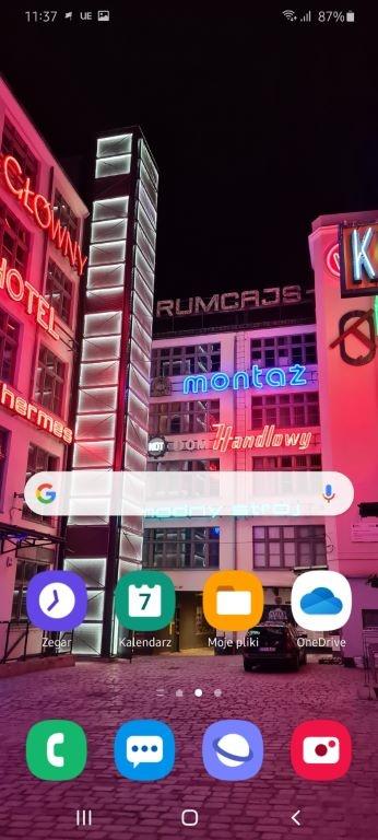 One UI ma dość charakterystyczny wygląd ikon i systemu