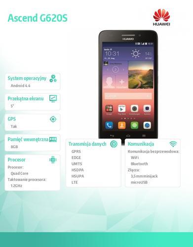 Huawei Ascend G620S Black