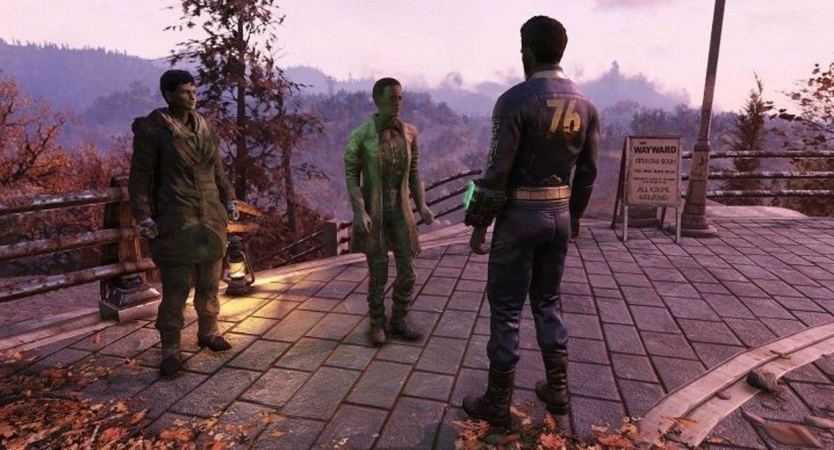 Fallout 76 podczas rozgrywki