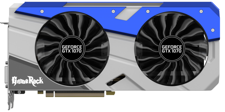 Palit GTX 1070 GameRock - dobra karta do gier