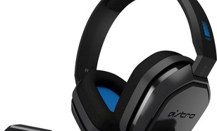 Logitech LOGITECH ASTRO A10 Headset for PS4 - GREY/BLUE - WW