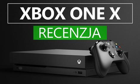 Recenzja Konsoli Xbox One X