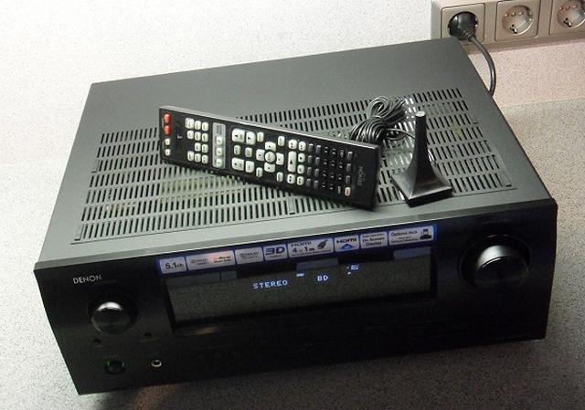 Denon AVR-1611 - ampiltuner do kina domowego