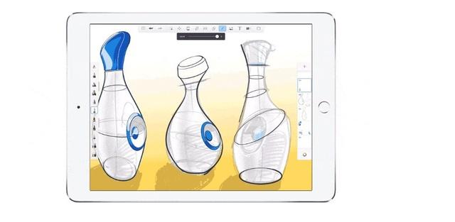 Zaletą Sketchbooka jest intuicyjność, która pozwala opanować proces rysowania