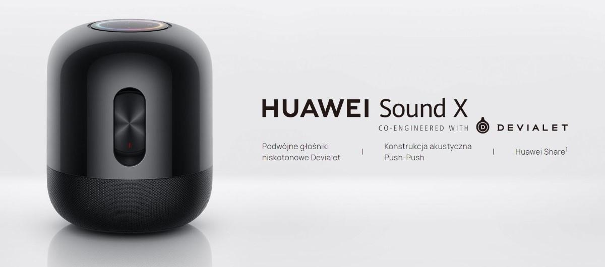 Zalety  Huawei Sound X Czarny