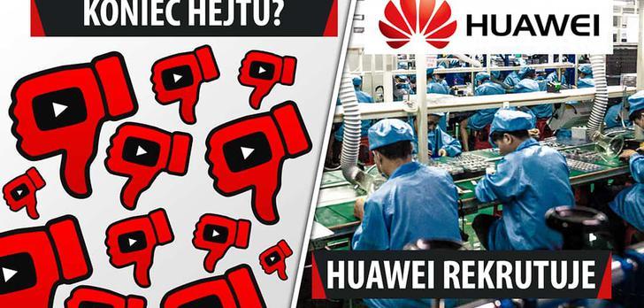 Więcej Huaweia w Polsce, drukowanie światłem, cyfrowe wojska - VideoNews #193