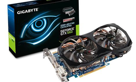 GIGABYTE prezentuje trzy nowe karty graficzne  GeForce GTX660, GTX 650OC w wersji 2GB i 1GB