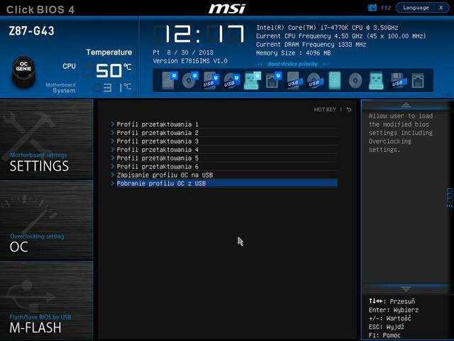 MSI Z87-G43 uefi fot5