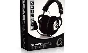 QPAD QH-90 Czarne Słuchawki dla graczy