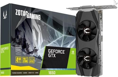 Zotac GeForce GTX 1650 Gaming Low Profile 4GB GDDR5 (ZT-T16500H-10L)