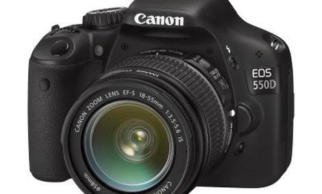Canon EOS 550D – matryca 18 Mpix, filmy HD 1080p, czułość ISO 6400