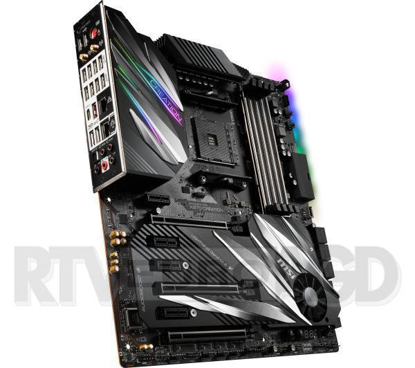 MSI Prestige X570 Creation AM4 4DDR4 M.2/USB 3.1