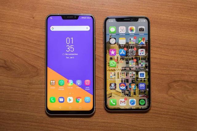 iPhone X vs ZenFone 5