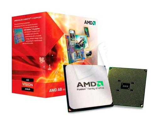 AMD APU X4 A8-3870 3.0GHz BOX (FM1) (100W)
