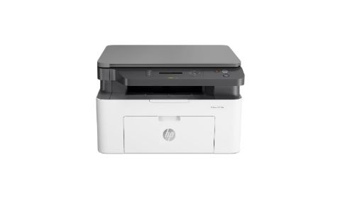 HP Laser MFP 135a (4ZB82AB19) na białym tle