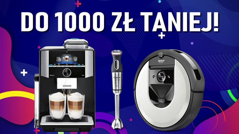 Małe AGD i odkurzacze do 1000 złotych taniej!